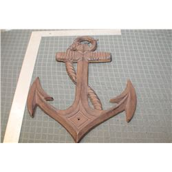 VINTAGE CAST WALL ANCHOR , LARGE