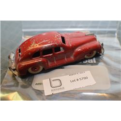 OCCUPIED JAPAN TIN TOY AUTOMOBILE  NO KEY WIND UP