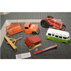TOYS AND PARTS HUBLEY ETC