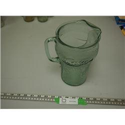 COKE COLA GLASS PITCHER