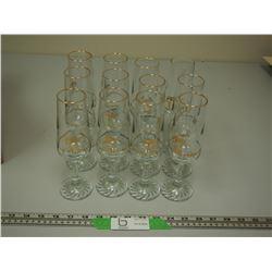 (12) OLYMPIC GLASSES