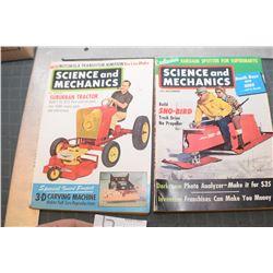 SCIENCE & MECHANICS MAGAZINE 1961---SNOWMOBILE
