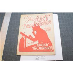 1930 ART OF CARTOONING...HITLER CARTOON