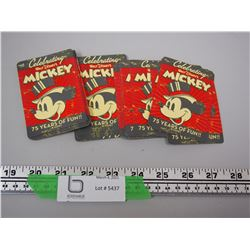 CELEBRATING WALT DISNEY 75 YEARS MICKEY MOUSE PLAYING CARDS