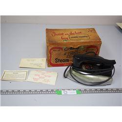 AUTOMATIC STEAM & DRY IRON IN ORIGINAL BOX (SAMSON DOMINION LTD)