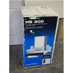 HS 300 S.I CHANNEL INTEGRATED HOME THEATRE SYSTEM (UNOPENED) WITH HDMI