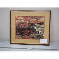 AY JACKSON PAINTING IN FRAME (23 1/4 X 27 1/4 LONG)
