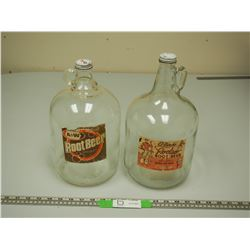 VINTAGE KFC (Prince Albert) EL RANCHO ROOT BEER JUG PLUS A & W ROOT BEER JUG