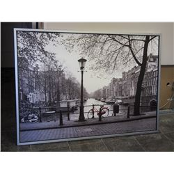 PICTURE IN FRAME FROM IKEA (39 1/2 X 55 1/2 LONG)