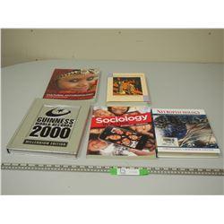 5 MISC BOOKS