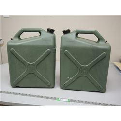 2X THE MONEY / RELIANCE WATER JUGS 6 US GALL 23 LITRE