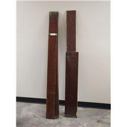 WOOD BOARDS (SHORTEST 38 - LONGEST 61 IN)
