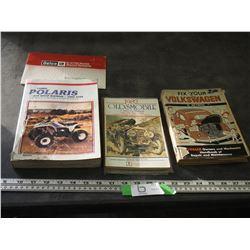 VOLKSWAGEN, ALLSMOBILE POLANIS BOOKS MANUALS