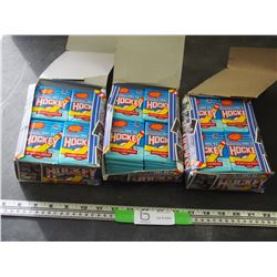 3X THE MONEY / O PEE CHEE 91-92 HOCKEY CARDS ALL UNOPENED