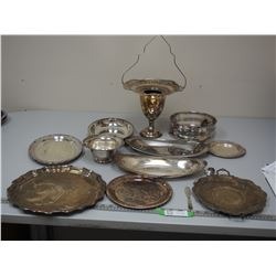 VINTAGE SILVER PLATED? ITEMS