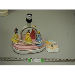 CINDERELLA LAMP, KINDS LIGHT SWITCH COVER (NEW)