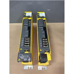 (2) - FANUC A06B-6114-H302 SERVO AMPLIFIERS