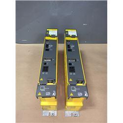 (2) - FANUC A06B-6115-H001 POWER SUPPLY MODULES