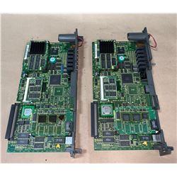 (2) - FANUC A16B-3200-0412/04A CIRCUIT BOARDS