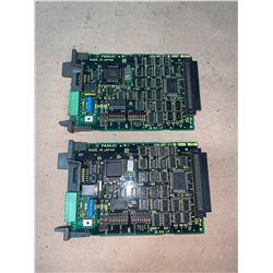 (2) - FANUC A20B-8001-0700/02B CIRCUIT BOARDS