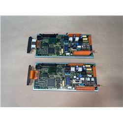 (2) - FANUC A20B-2100-0770/07F CIRCUIT BOARDS
