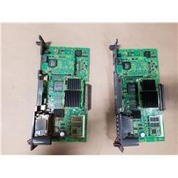 (2) FANUC A16B-3200-0730 MAIN PC BOARD