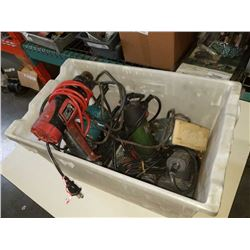 TOTE OF POWER TOOLS
