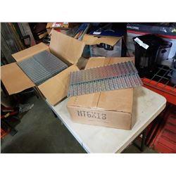 2 BOXES OF METAL GRATING