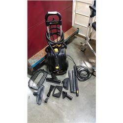 tested and working McCullough mc1385 steam cleaner with accessories tested and working