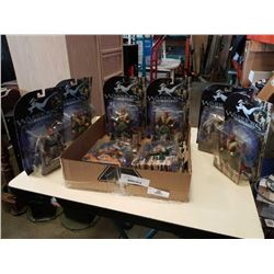 WARRIORS OF VIRTUE ACTION FIGURES NEW IN BOX
