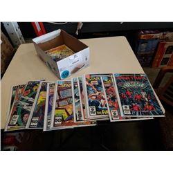 BOX OF STAR TREK COMICS