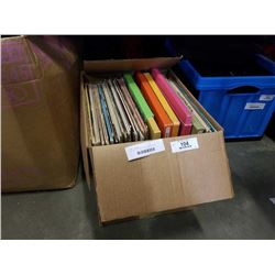 BOX OF RECORDS - BEATLES, TRIUMPH AND OTHERS