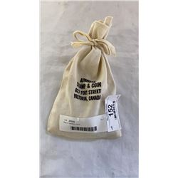 Bag of eastern coins