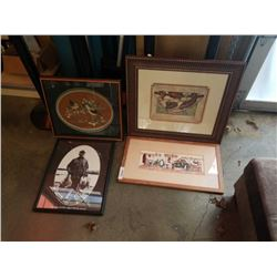 LOT OF ESTATE PRINTS