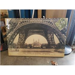 CANVAS EIFFEL TOWER PRINT