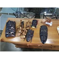 LOT OF WOOD COLLECTIBLES