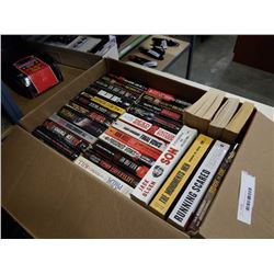 BOX OF TRUE CRIME NOVELS