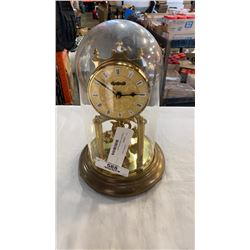 Vintage kerns glass dome clock