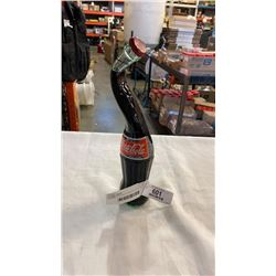 STRETCHED NECK COCA COLA BOTTLE