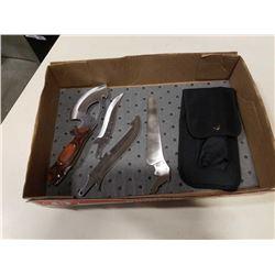 New interchangable utility knife
