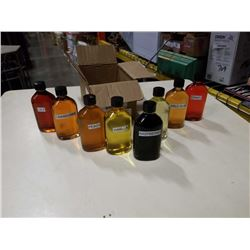 8 BOTTLES OF FRAGRANCE OIL