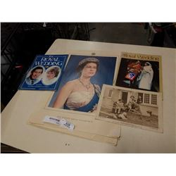 LOT OF ROYALTY COLLECTABLES