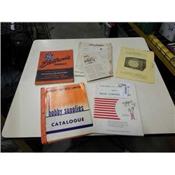 LOT OF VINTAGE ELECTRONICS GUIDES/MANUALS GE TUBE MANUAL