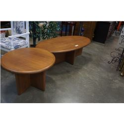 SCALI DURANTE COFFEE TABLE AND ENDTABLE  - BURNABY