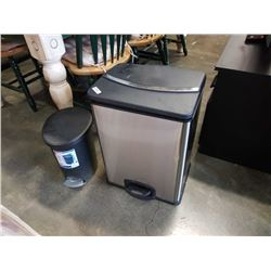 Stainless and sterlite waste bins