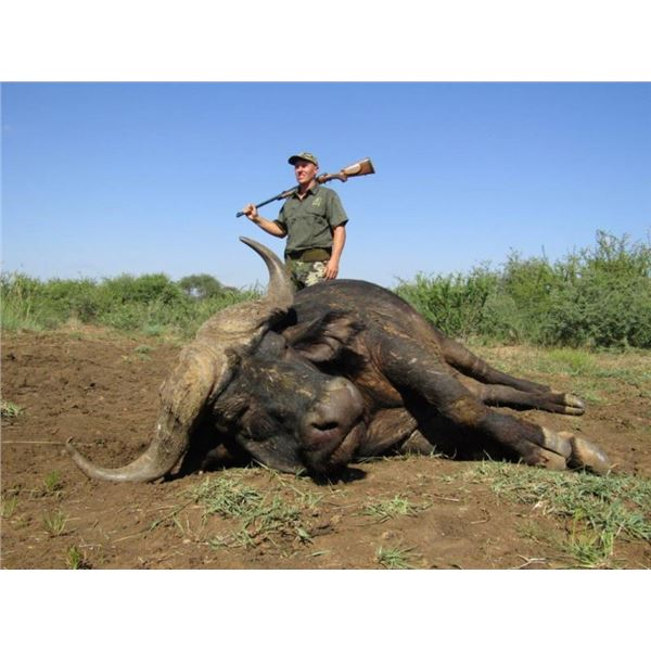 5-day South Africa Cape Buffalo Hunt for 1 Hunter