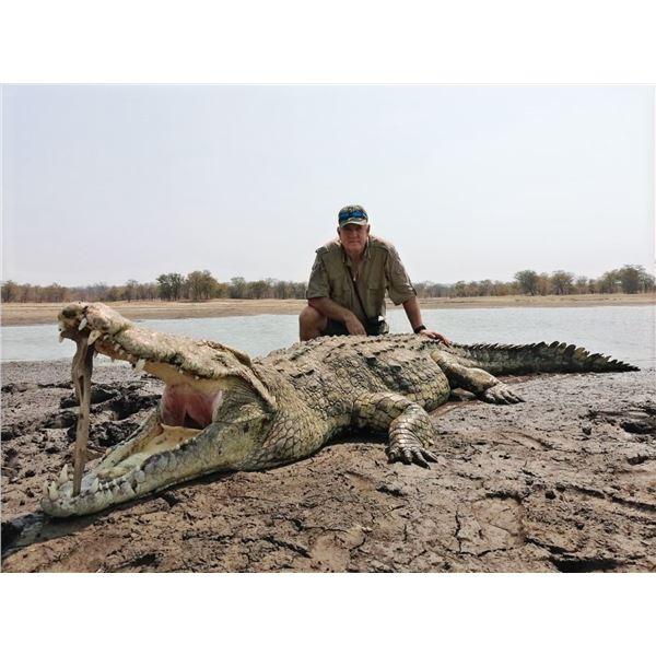 3-Day Mozambique Crocodile Hunt for 1 Hunter