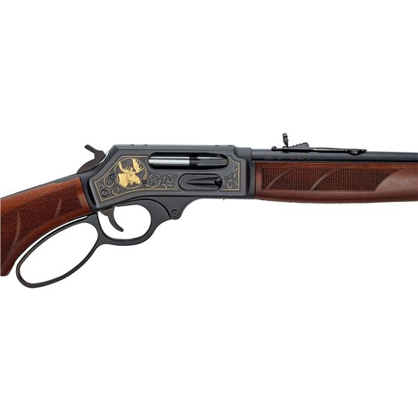 Henry Steel Wildlife Edition .45-70 Side Gate Lever Action Rifle