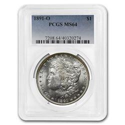 1891-O Morgan Dollar MS-64 PCGS