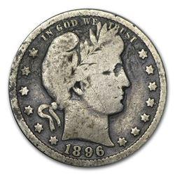 1896-O Barber Quarter VG
